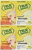 100% Natural True Lemonade & True Raspberry Lemonade, 1.06 Oz/Each, 10 Ct (Pack of 4)