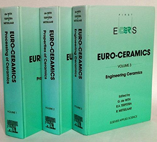 Euro-Ceramics: Volume 1: Processing of Ceramics Volume 2: Properties of Ceramics Including Electronic, Superconducting and...