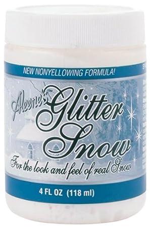 Aleene's Glitter Snow 4oz Aleene' s Glitter Snow 4oz ilovetocreate 14642