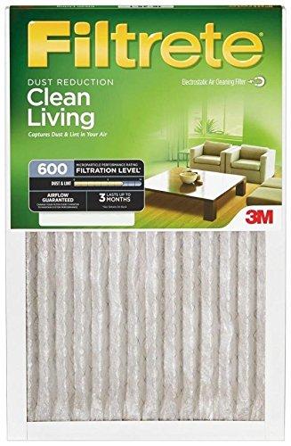 3M Filtrete 18x18x1 Dust and Pollen Air Filter (6-Pack) (18x18x1 Filtrete Filter)