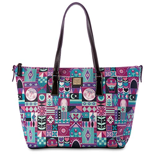 (Disney Parks ''it's a small world'' Shopper Tote Purse by Dooney & Bourke)