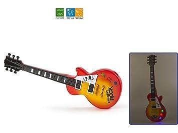 Guitarra Electrica Music Rock: Amazon.es: Juguetes y juegos