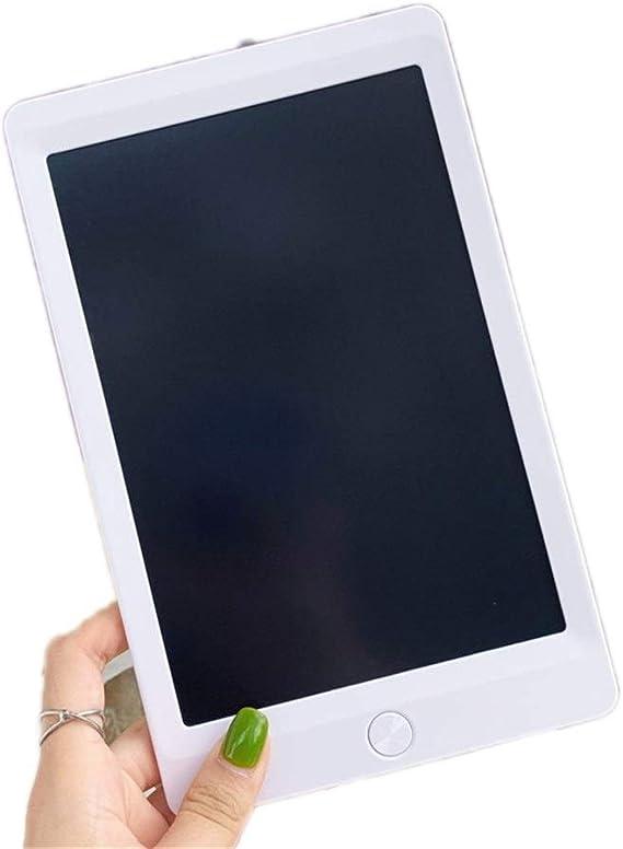 LCDライティングタブレット8.5インチカラフルなデジタルポータブルボード手書き子供のための大人のホームスクールオフィス ペン&タッチ マンガ・イラスト制作用モデル (Color : White)