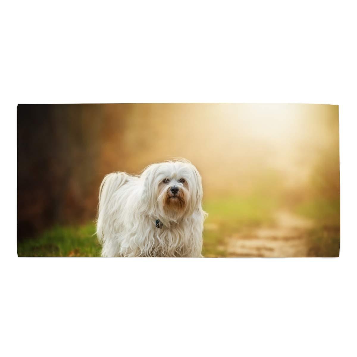 Amazon com: Adorable Yorkie Dog Printed Face Hair or Bath