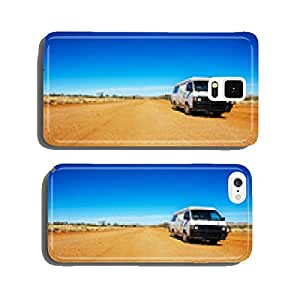 Backpacker Van On A Desert Road cell phone cover case iPhone6