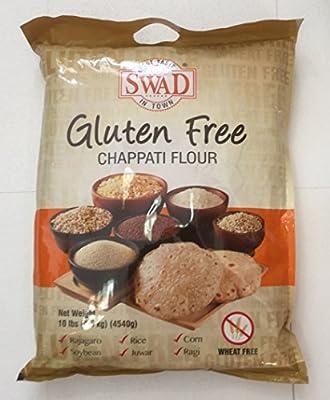 Swad Gluten Free, Wheat Free Multi-grain Flour - 10lb., 4.5kg.