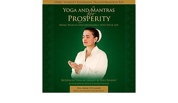 Yoga & Mantras for Prosperity (Kundalini Transformation Kit ...