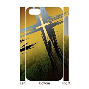 3D Bumper Plastic Case Of Cross customized case For Iphone 4/4s