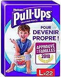 Huggies Pull Ups Pannolino Mutandina di Apprendimento, Taglia 6 (16-23 Kg), 2 Pacchi da 22 Pezzi