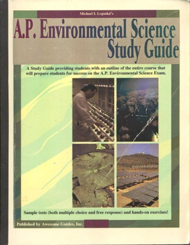 AP Environmental Science Study Guide