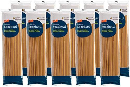 tegut... Nudeln Spaghetti Integrale, 10er Pack (10 x 500 g)