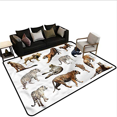 Safari,Rug Bathroom Mat 60