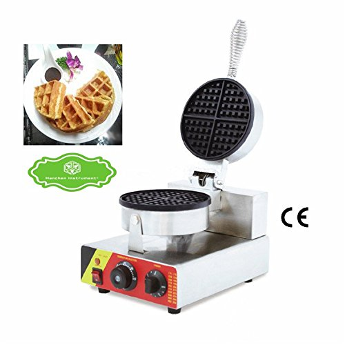 Hanchen Instrument NP-599 Commercial Waffle Maker Baker Iron Toaster Making Machine Waffeleisen (220V)