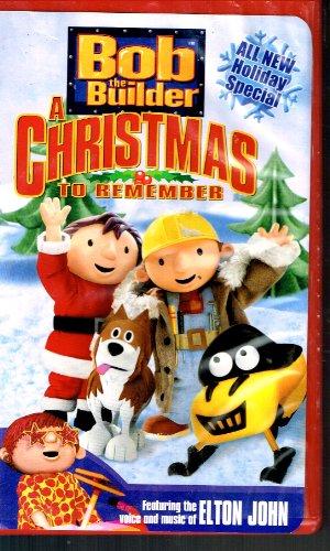 Bob the Builder-Christmas to Remember [VHS] (Bob The Builder A Christmas To Remember Vhs)