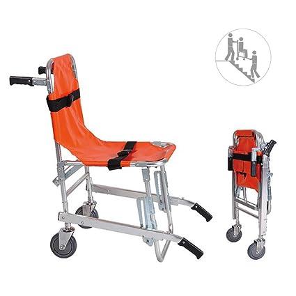 Silla De Escalera - Aluminio Bomba De Ambulancia Ligera Bomba De Evacuación Médica Silla De Escalera