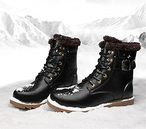 Tempo Inverno Stivali Caviglia Pelle Uomini Pi Tooling Scarpe XIE balestruccio Autunno libero Pizzo XqYTO