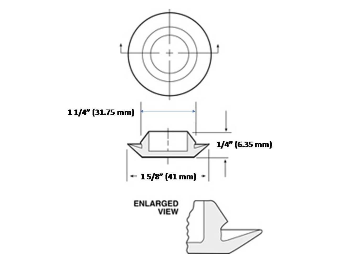 Sb Distribution Ltd Set Of 4 Rubber Body Floor Pan Drain Jeep Wrangler Ergonomic Button Plugs For