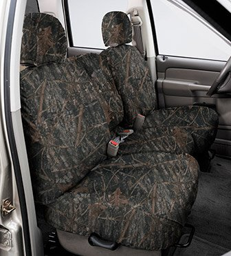 Covercraft True Timber Camo Conceal Brown SeatSaver Custom Seat Cover Size (Covercraft True Timber Camo)