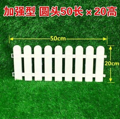 Lilacorp Plastic Garden Fence Flowerbed Fence Idyllic Small