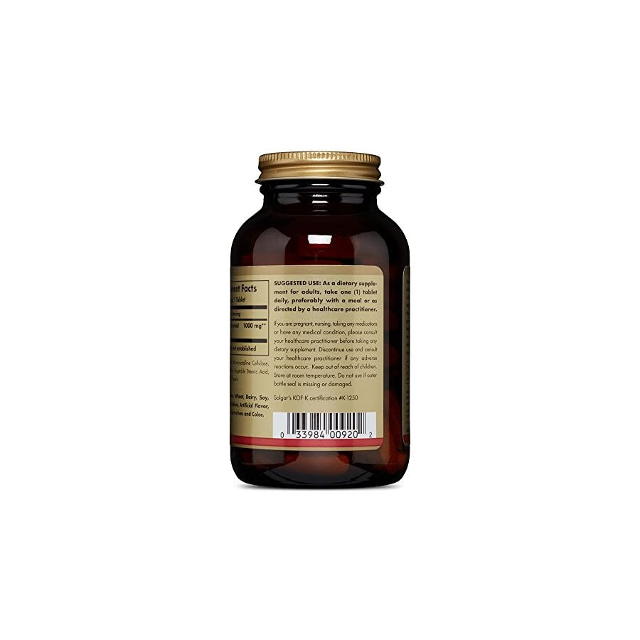 Solgar – Citrus Bioflavonoid Complex, 1000 mg, 100 Tablets