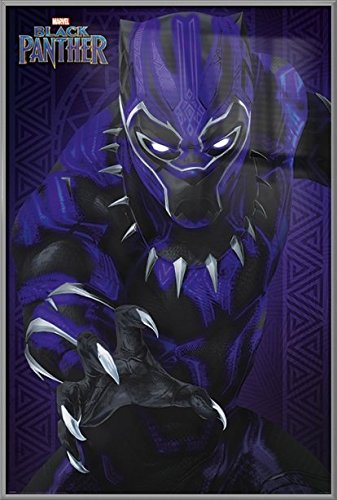 Black Panther - Framed Marvel Movie Poster/Print