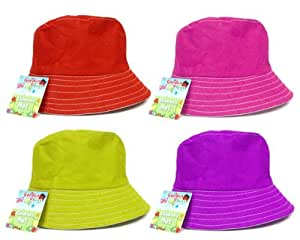 Garden Bugs para jardín sombrero, rosa