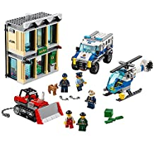 LEGO 6174435 City Police Bulldozer Break-In 60140 Building Kit
