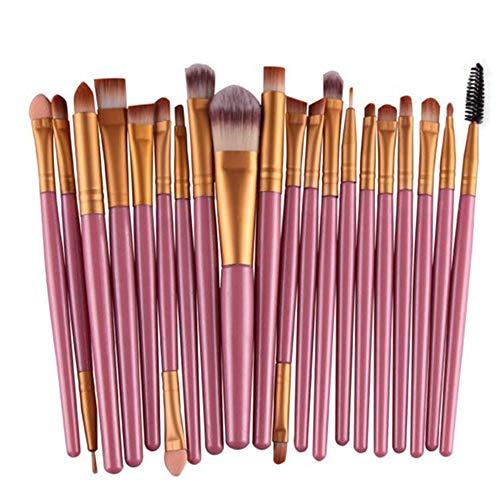 ❤️ Sunbona ❤️ Clearance Makeup Brush 20 Pcs Makeup Brush Set Professional Face Eye Shadow Eyeliner Foundation Blush (Gold)