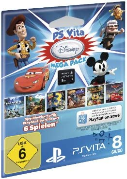 PS Vita Mega Pack Disney [Importación Alemana]: Amazon.es: Videojuegos