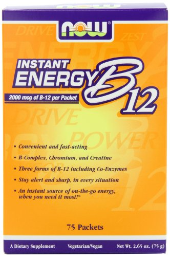NOW Foods B-12 Instant Energy Packets
