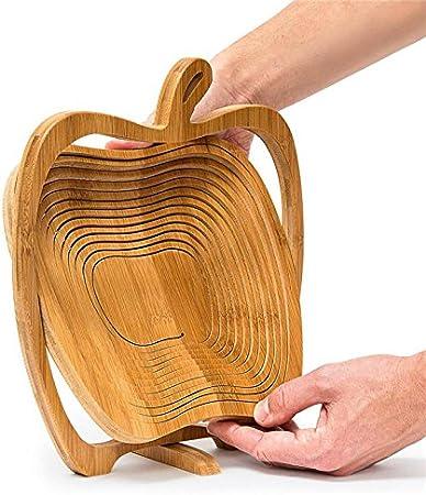 Bandeja De Madera Con Asas De Cuerda Estilo Cajón de Apple 3 Tamaños Acabado Vintage Marrón
