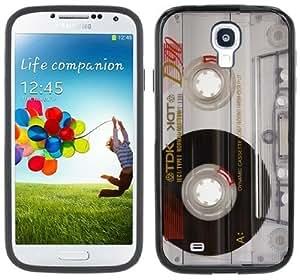 Cassette Tape Photo Retro Handmade Samsung Galaxy S4 Black Bumper Hard Plastic CaseKimberly Kurzendoerfer