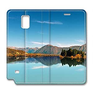 Scenic Spot Design Leather Case for Samsung Note 4 Beautiful Scenery