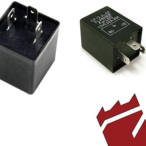 CF13 or EP34 LED Turn Signal Flasher fixes hyper blinking for Hyundai Models Rukse RK8630-KIA