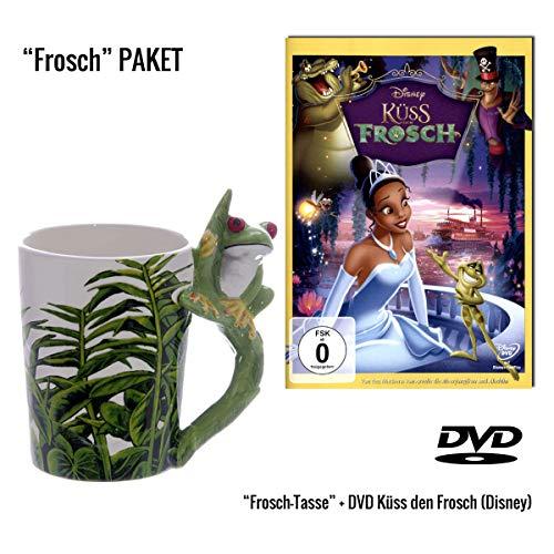 Küss den Frosch DVD + 3D Froschtasse Geschenkset Alemania ...