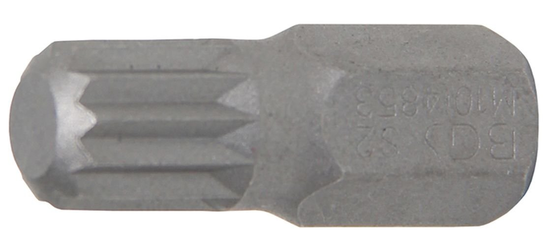 BGS Spline Bit, 30  mm long, M10, 3/8  Inches, 1  Piece, 4853 30 mm long 3/8 Inches 1 Piece