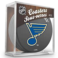 Sher-Wood St. Louis Blues NHL Eishockey Puck Untersetzer (4er Set)