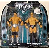 WWE Summer Slam Road to Wrestlemania 22 Series 1 Action Figure 2-Pack Batista vs. JBL by Jakks