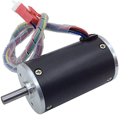 BEMONOC Small DC Motor 12V High Speed 3000 RPM Optional Micro DC Brush Motor BBQ Driver