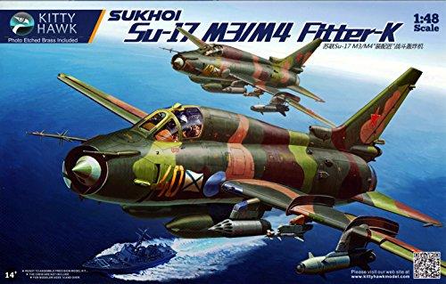 KTH80144 1:48 Kitty Hawk Sukhoi Su-17 M3/M4 Fitter-K [MODEL BUILDING ()