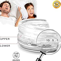 Adjustable Night Sleep Aid Bruxism Mouthpiece Mouth Guard ~ATTENTION TO ALL CUSTOMERS // NOT SUITABLE FOR SMALL MOUTHS