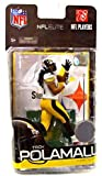 troy polamalu figure - McFarlane Toys NFL Sports Picks Exclusive NFL Elite Series 2 Action Figure Troy Polamalu (Pittsburgh Steelers)