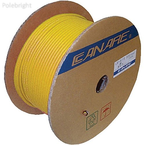 L-4CFB RG59 HD-SDI Coaxial Cable - 984' (Yellow) - Polebright update by Polebright