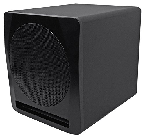 Rockville Apm10b 10'' 400W Powered/Active Studio Subwoofer Pro Reference Sub by Rockville