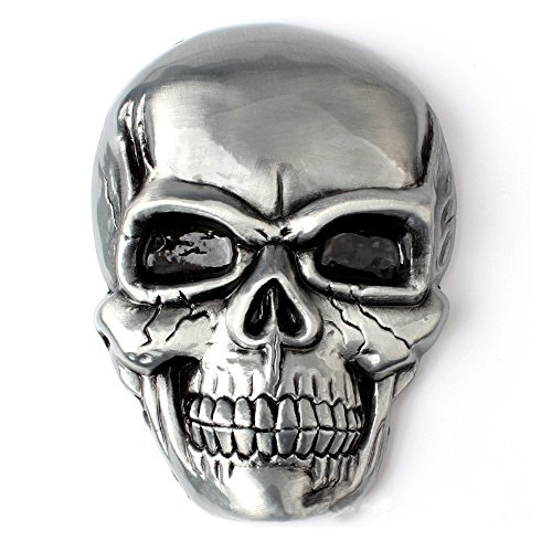 (Sam Store® Skull Belt Buckle Western Cowboy (SK-01))
