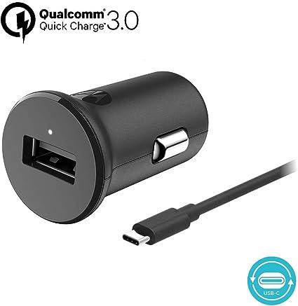 Amazon.com: Motorola TurboPower 18 QC3.0 Cargador de coche ...