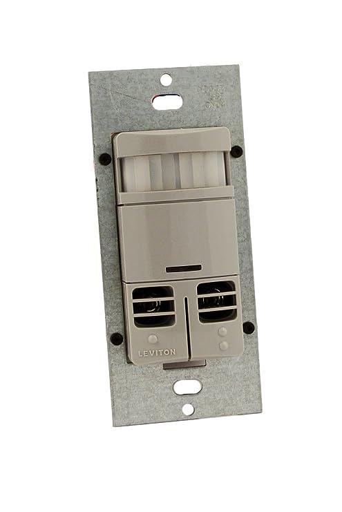 Leviton ossmd-mdg Decora estilo - Interruptor de pared PIR ...