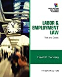 img - for Labor and Employment Law: Text & Cases (South-western Legal Studies in Business) book / textbook / text book