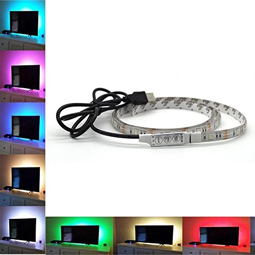 RGB-5050-Flex-LED-Light-Strip-Waterproof-IP65-TV-Backlight-Strip-Light