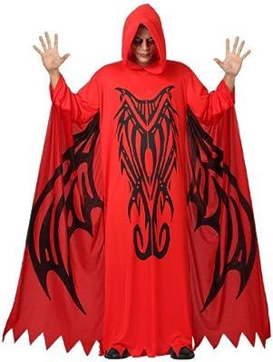 Atosa-14859 Disfraz Demonio Para Hombre Adulto, color rojo, M-L ...